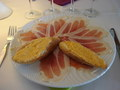 Jambon de Serrano avec son pain tomate