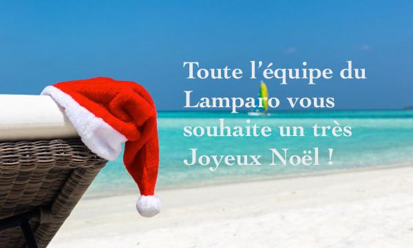 Toute l'équipe du Lamparo vous souhaite un très Joyeux Noël !