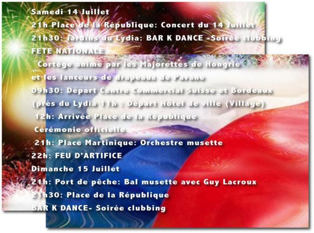 Quand la France fête le 14 juillet au Barcarès !