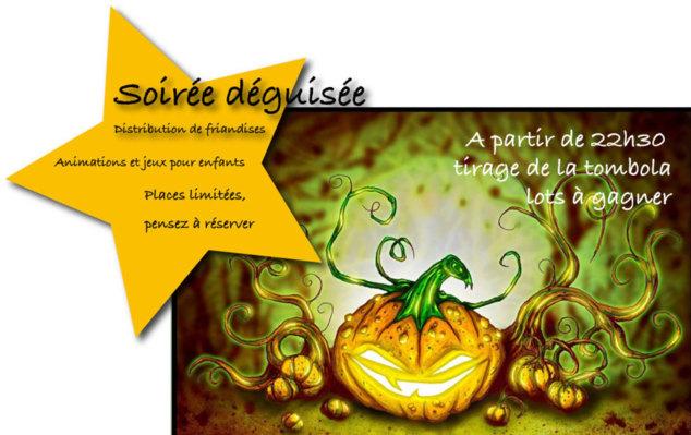 27 octobre ! Soirée déguisée Halloween ...