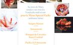 Au mois de Mars,  rendez-vous tous les Vendredis midi et soir  pour le Menu Spécial Paella (ambiance latine)