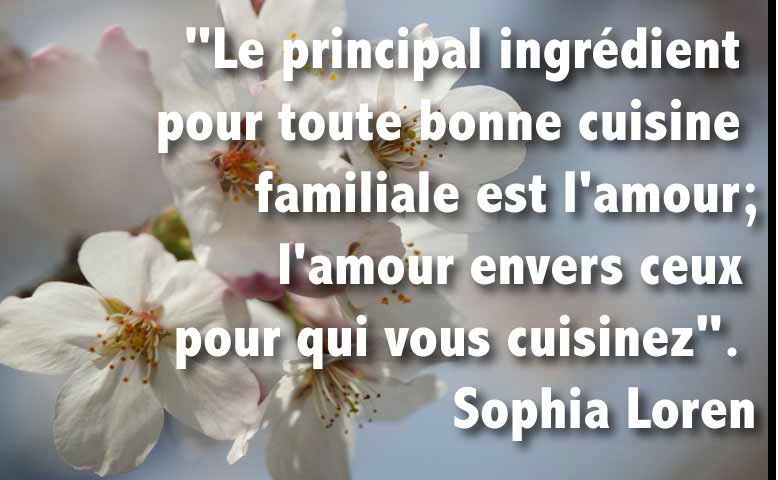 Avril. Citation du Mois