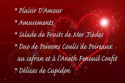 Vendredi 14 Février, Vive la Saint Valentin